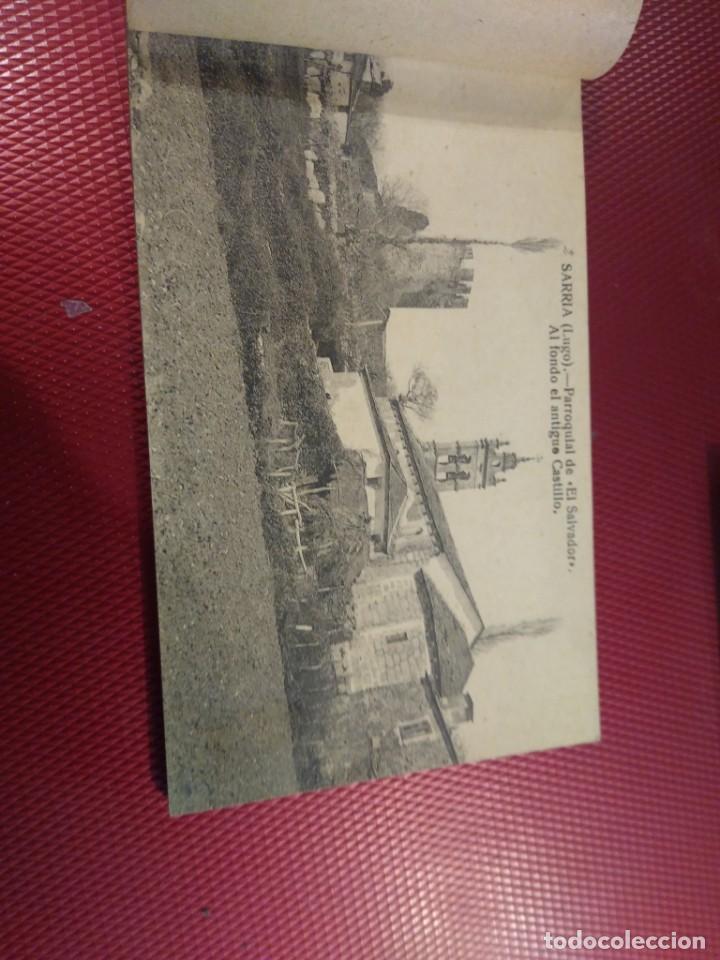 Postales: Vistas de Sarria Lugo. 14 tarjetas postales. Edición El Siglo. - Foto 3 - 206882436
