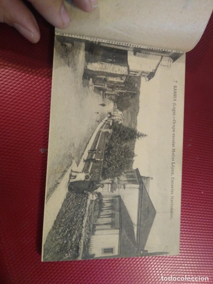 Postales: Vistas de Sarria Lugo. 14 tarjetas postales. Edición El Siglo. - Foto 4 - 206882436