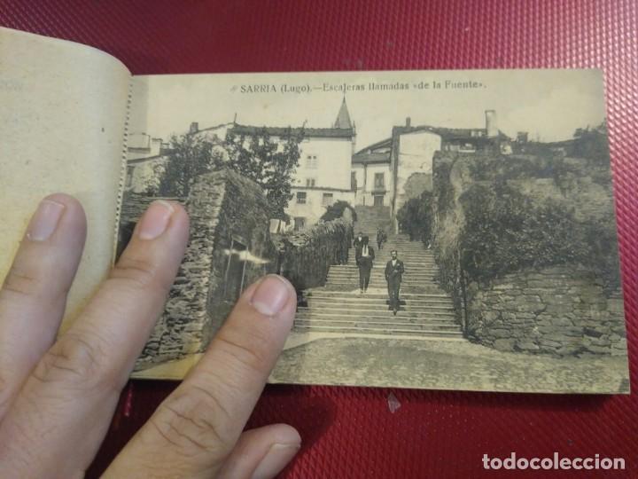 Postales: Vistas de Sarria Lugo. 14 tarjetas postales. Edición El Siglo. - Foto 5 - 206882436