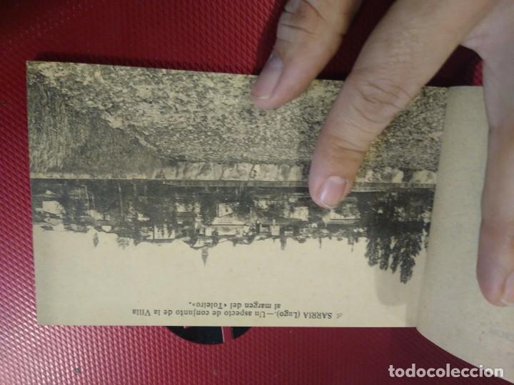 Postales: Vistas de Sarria Lugo. 14 tarjetas postales. Edición El Siglo. - Foto 6 - 206882436