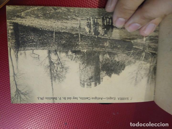 Postales: Vistas de Sarria Lugo. 14 tarjetas postales. Edición El Siglo. - Foto 9 - 206882436