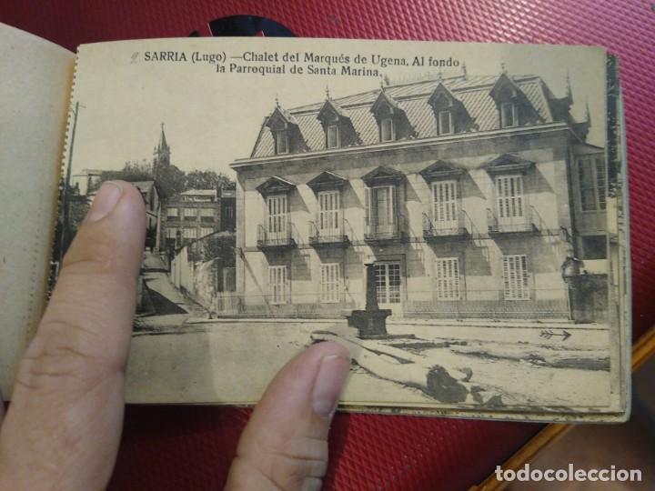 Postales: Vistas de Sarria Lugo. 14 tarjetas postales. Edición El Siglo. - Foto 10 - 206882436