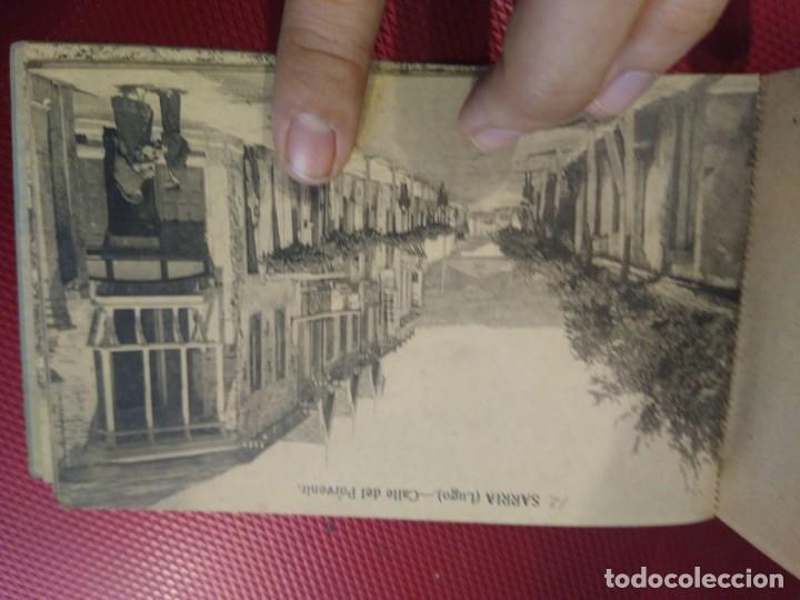 Postales: Vistas de Sarria Lugo. 14 tarjetas postales. Edición El Siglo. - Foto 13 - 206882436