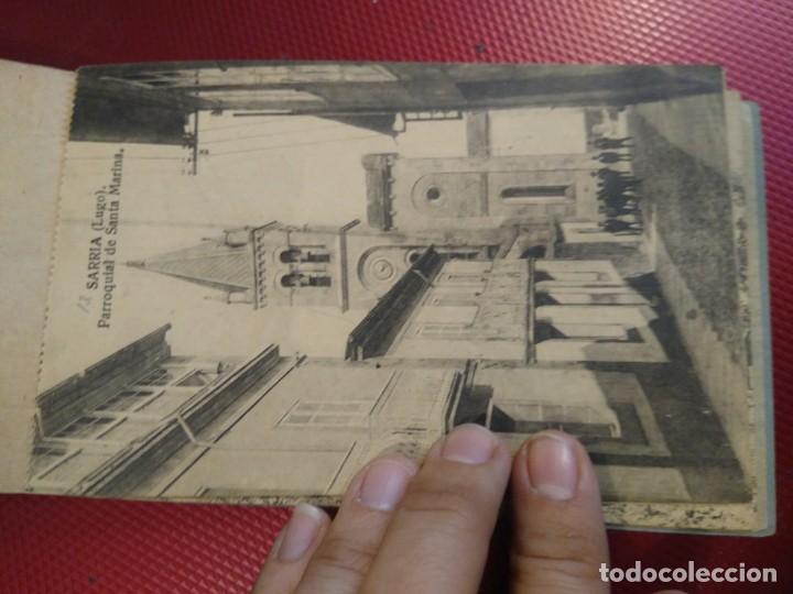 Postales: Vistas de Sarria Lugo. 14 tarjetas postales. Edición El Siglo. - Foto 14 - 206882436
