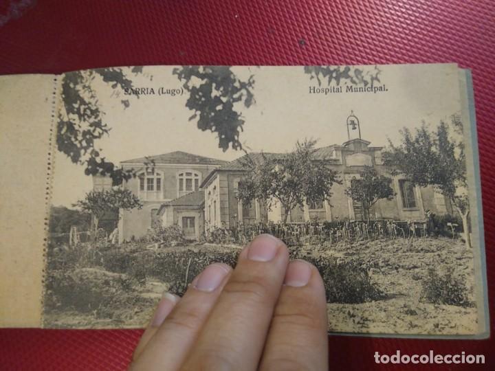 Postales: Vistas de Sarria Lugo. 14 tarjetas postales. Edición El Siglo. - Foto 15 - 206882436