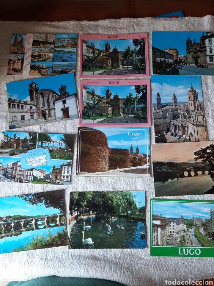 POSTALES LUGO VINTAGE COLISEVM COLECCIONISMO (Postales - España - Galicia Moderna (desde 1940))