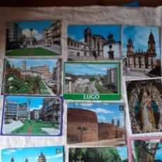 Postales: POTALES VINTAGE LUGO COLECCIONISMO COLISEVM. Lote 206999251