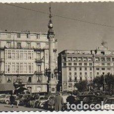 Postales: POSTAL DE CORUÑA. HOTEL EMBAJADOR. AVDA. DE LA MARINA Y CANTON GRANDE P-GA-1204. Lote 207072818