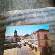 Postales: POSTAL FONSAGRADA LUGO PLAZA DE ESPAÑA E IGLESIA 1985. Lote 207195693