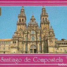 Postales: [POSTAL] FACHADA DE LA CATEDRAL. SANTIAGO DE COMPOSTELA (CORUÑA) (SIN CIRCULAR). Lote 207220033