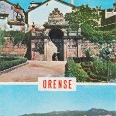 Postales: ORENSE, VARIAS VISTAS - EDICIONES PARIS Nº 173 - EDITADA EN 1965 - S/C. Lote 207612680