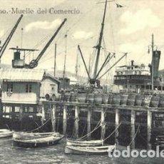 Postales: 1910 VIGO GALICIA POSTAL 22 MUELLE DEL COMERCIO GRAFOS DE MADRID - IMPLECABLE - RARA. Lote 208982845