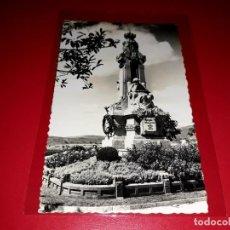 """Postales: POSTAL SANTIAGO DE COMPOSTELA """" MONUMENTO A ROSALIA DE CASTRO """" ESCRITA Y SELLADA 1959. Lote 209257042"""