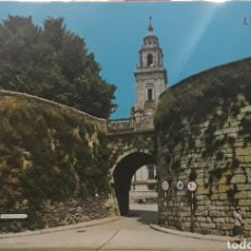 Postales: POSTAL N°122 PUERTA DE SANTIAGO LUGO. Lote 210001323