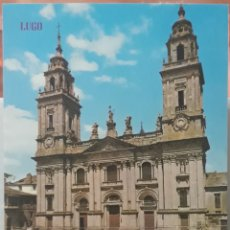 Postales: POSTAL N°168 FACHADA DE LA CATEDRAL LUGO. Lote 210002086