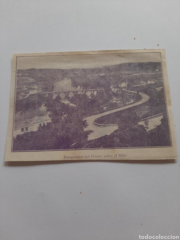 Postales: Lugo publicidad barrio puente perspectiva antiguo - Foto 2 - 210172635