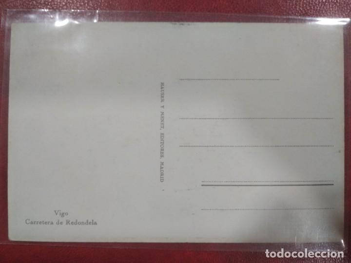Postales: Postal antigua Vigo-Carretera de Redondela Ed.Hauser y Menet - Foto 5 - 210207047