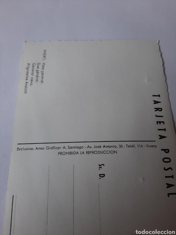 Postales: VIVERO LUGO POSTAL EDICIONES A SANTIAGO - Foto 2 - 210358146