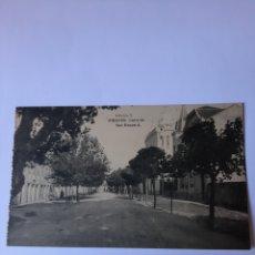 Postales: RIBADEO LUGO POSTAL EDICION HAUSER Y MENET MADRID CALLE SAN ROQUE. Lote 210386343