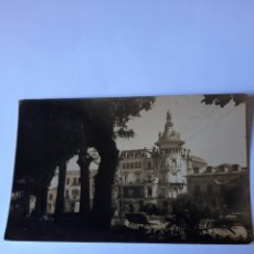 Postales: RIBADEO LUGO FOTO ANTIGUA PLAZA ESPAÑA 1900. Lote 210386443
