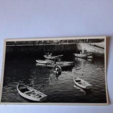 Postales: RIBADEO LUGO POSTAL FOTO PÉREZ RIBADEO PUERTO. Lote 210387068