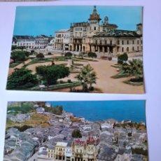 Postales: RIBADEO LUGO POSTAL EDICIONES ALARDE. Lote 210387625