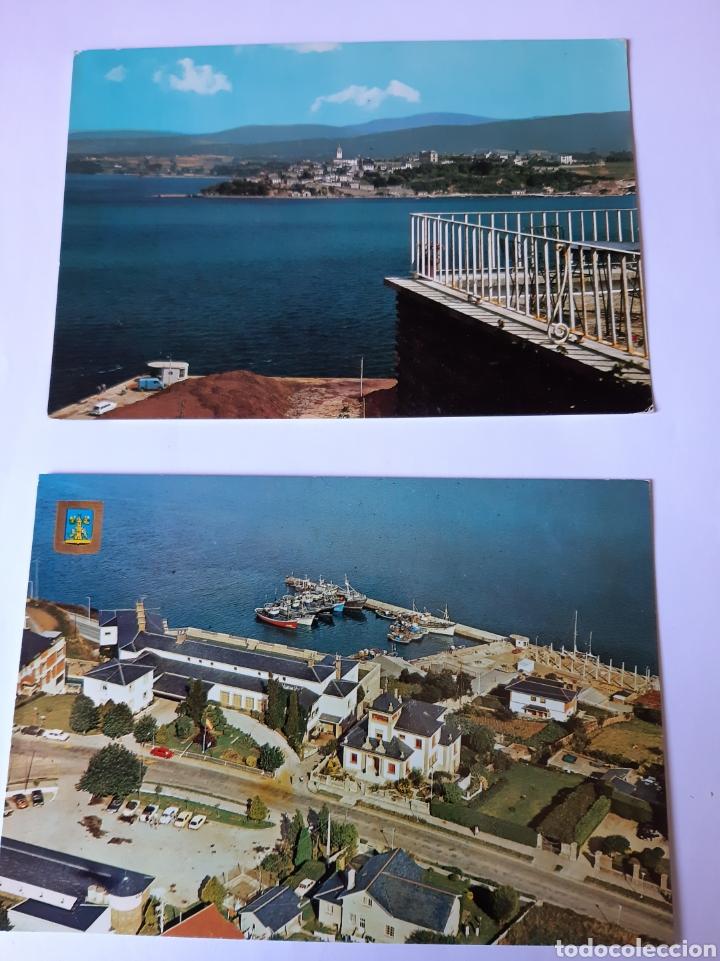 RIBADEO LUGO POSTALES PUERTO ALBERGUE CARRETERA CASTRO RIA (Postales - España - Galicia Moderna (desde 1940))