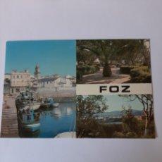 Postales: FOZ LUGO GALICIA POSTAL EXCLUSIVA BAHIA 1976. Lote 210394781