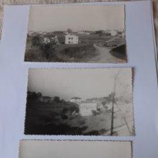 Postales: ANTIGUAS FOTOS ZONA RIBADEO VEGADEO LUGO. Lote 210396067