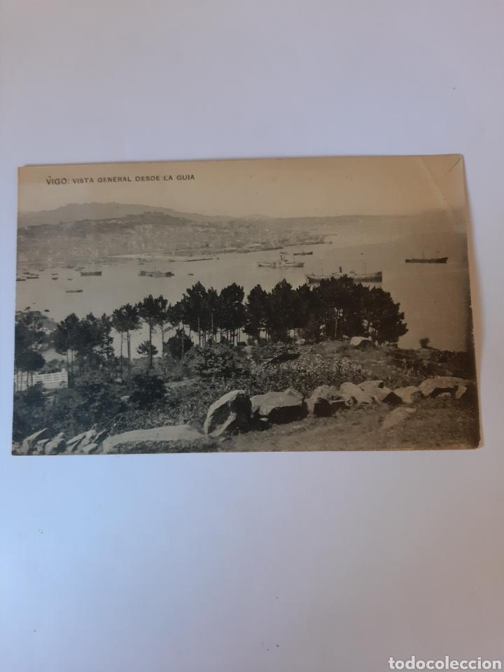 VIGO PONTEVEDRA GALICIA VISTA DESDE GUIA EDICIONES TETILLA PAPELERIA VIGO (Postales - España - Galicia Moderna (desde 1940))