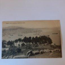 Postales: VIGO PONTEVEDRA GALICIA VISTA DESDE GUIA EDICIONES TETILLA PAPELERIA VIGO. Lote 210433872