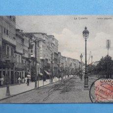 Postales: LA CORUÑA. CANTÓN PEQUEÑO. FRANQUEADA EL 26 DE ABRIL DE 1910.. Lote 210539778