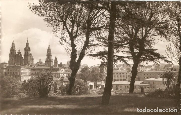 SANTIAGO DE COMPOSTELA Nº53 VISTA PARCIAL.... CIRCULADA (Postales - España - Galicia Moderna (desde 1940))