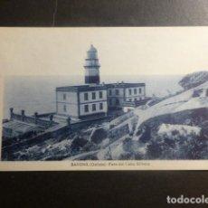 Cartes Postales: BAYONA PONTEVEDRA FARO DEL CABO SILLEIRO. Lote 210795075