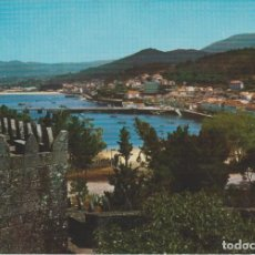 Postales: (2) BAYONA. PONTEVEDRA. VISTA PARCIAL DESDE EL PARADOR. Lote 210964160