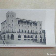 Postales: POSTAL SANTIAGO.- HOTEL COMPOSTELA. Lote 211579071
