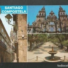 Cartes Postales: POSTAL SIN CIRCULAR - SANTIAGO DE COMPOSTELA 102 - DIVERSOS ASPECTOS - EDITA ESCUDO DE ORO. Lote 211766233