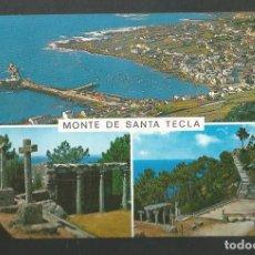 Postales: POSTAL CIRCULADA - MONTE DE SANTA TECLA 3016 - LA GUARDIA - EDITA GARCIA GARRABELLA. Lote 211904253