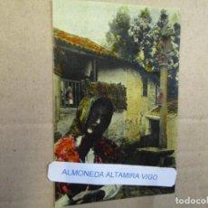 """Postales: RARA POSTAL GALICIA """" CARMELA DE COMBARRO """" - EDI PPKO O JOSE CAO MOURE VIGO, S/C+ INFO. Lote 211906527"""
