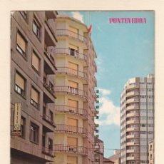 Postales: POSTAL AVENIDA DE DANIEL DE LA SOTA. PONTEVEDRA (1967). Lote 211935201