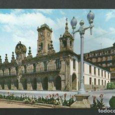 Postales: POSTAL CIRCULADA - LUGO 10 - AYUNTAMIENTO - EDITA GARCIA GARRABELLA. Lote 211950381