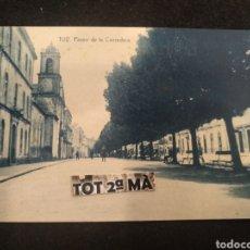 Postales: POSTAL TUY, PASEO DE LA CORREDERA. THOMAS, PONTEVEDRA.. Lote 212059011