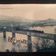 Postales: POSTAL TUY, PUENTE INTERNACIONAL. THOMAS, PONTEVEDRA.. Lote 212059477