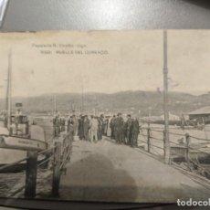 Postales: AÑOS 20 - VIGO - MUELLE DEL COMERCIO - HAUSER Y MENET - PAPELERIA R.VICETTO - SIN CIRCULAR - ROBERTO. Lote 212263488