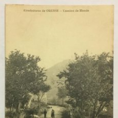 Cartes Postales: ALREDEDORES DE ORENSE. CAMINO DE MENDE.. Lote 213063008