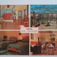 Postais: VERÍN - HOTEL DOS NACIONES - LMX - GAL3. Lote 213242582