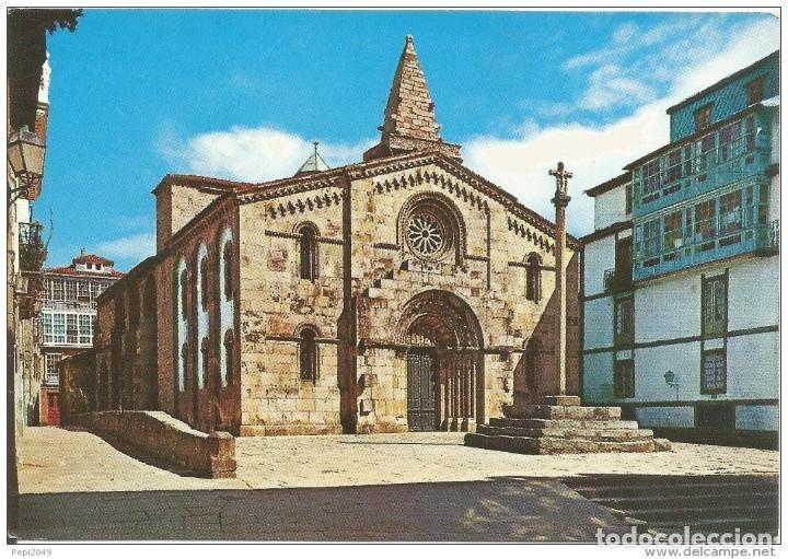// E227 - POSTAL - LA CORUÑA - COLEGIATA DE SANTA MARIA (Postales - España - Galicia Moderna (desde 1940))