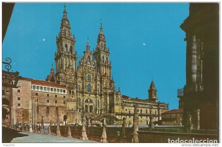 == PN302 - POSTAL - SANTIAGO DE COMPOSTELA - LA CATEDRAL (Postales - España - Galicia Moderna (desde 1940))
