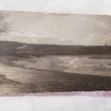 Cartoline: FOTO POSTAL DE SAN CIPRIAN. LUGO. LA PLAYA. EDICIONES LIBRERÍA CERVANTES, RIBADEO. NO CIRCULADA.. Lote 213816148