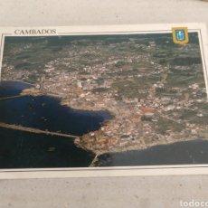 Cartes Postales: POSTAL DE PONTEVEDRA. CAMBADOS.VISTA GENERAL. ESCRITA. Lote 214343736